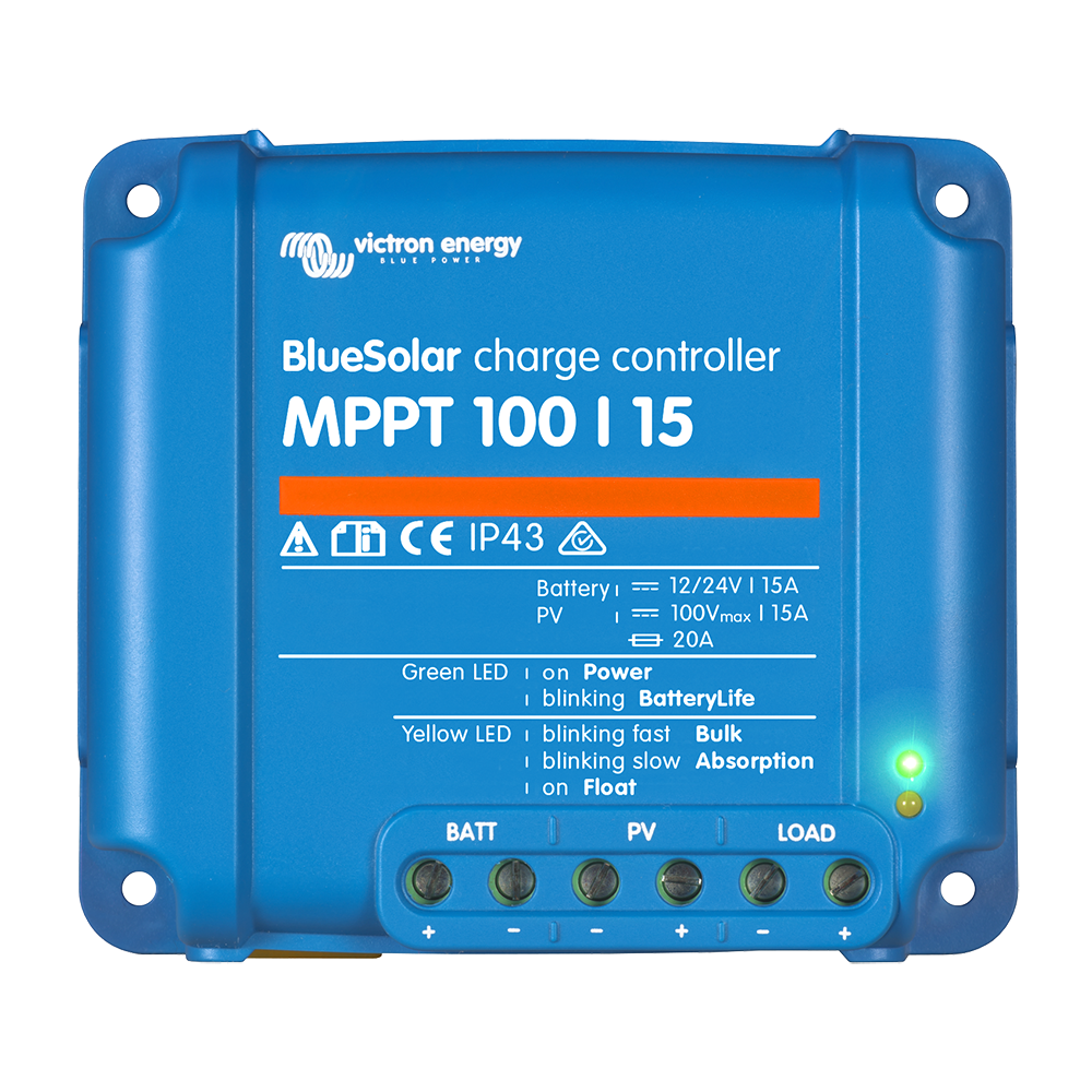 BlueSolar charge controller MPPT 100-15 (top)
