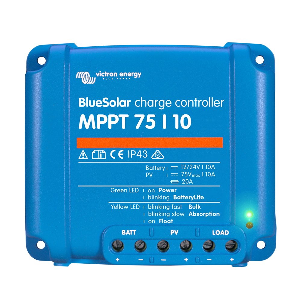 BlueSolar charge controller MPPT 75-10 (top)