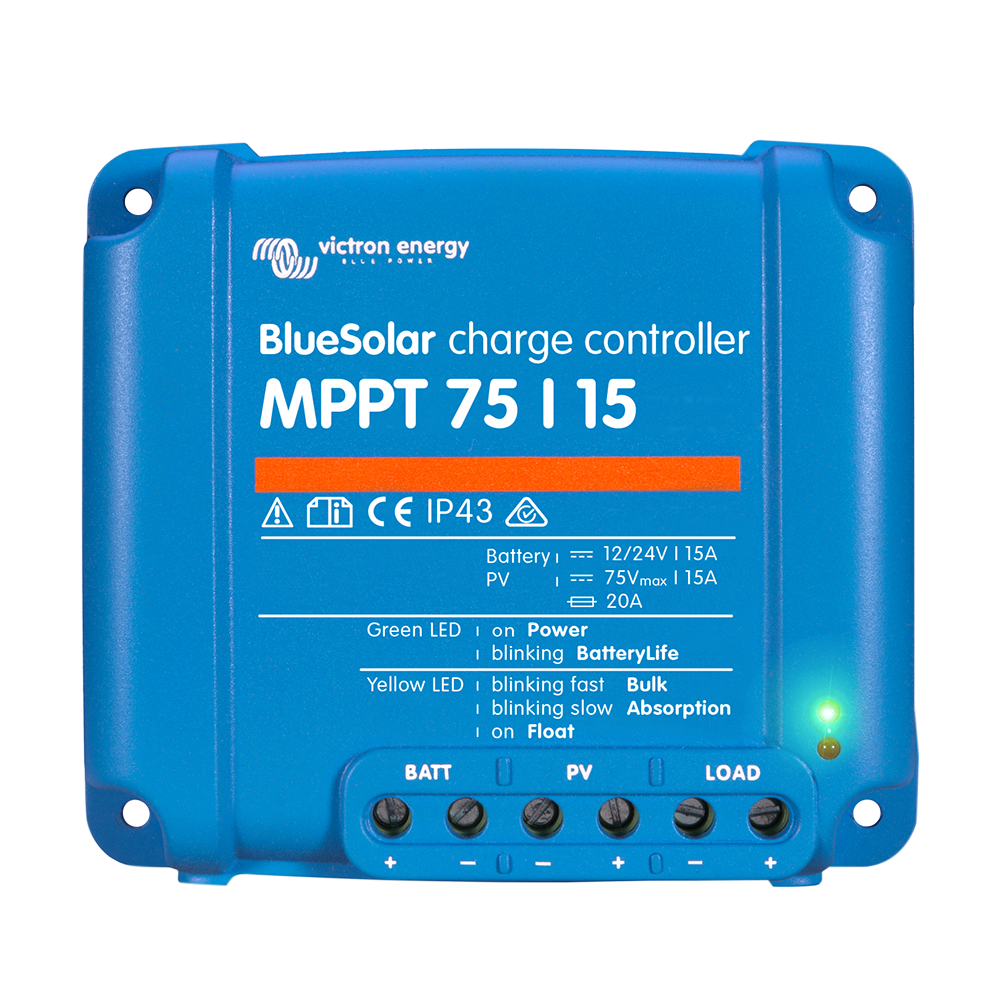 BlueSolar charge controller MPPT 75-15 (top)