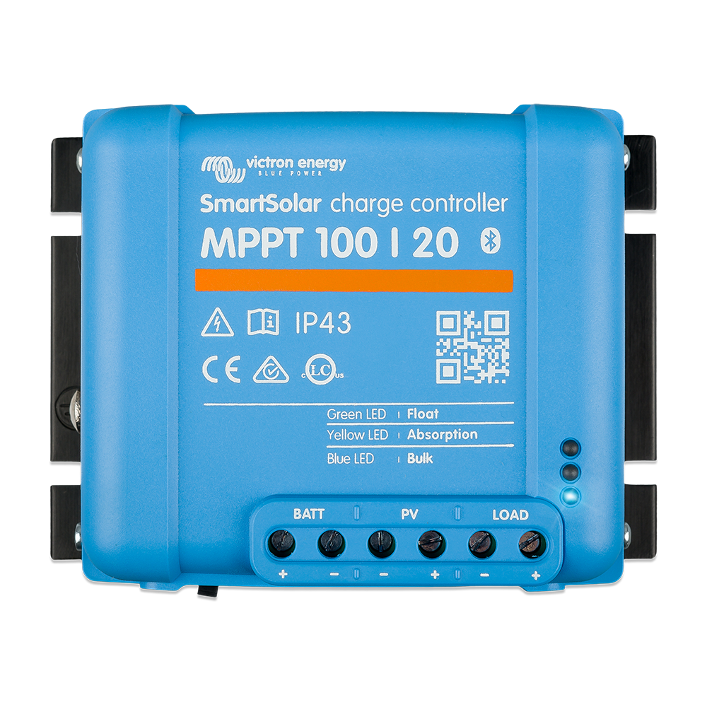 SmartSolar charge controller MPPT 100-20 (top)
