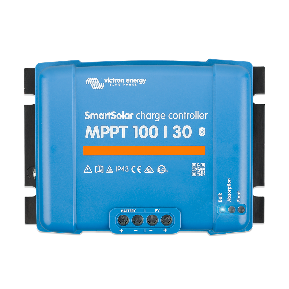 SmartSolar charge controller MPPT 100-30 (top)