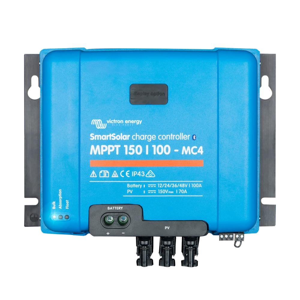 SmartSolar charge controller MPPT 150-100 MC4 (top)