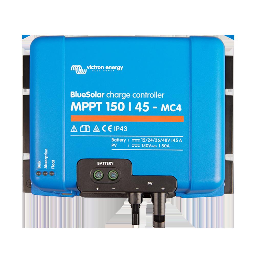 SmartSolar charge controller MPPT 150-45 MC4 (top)