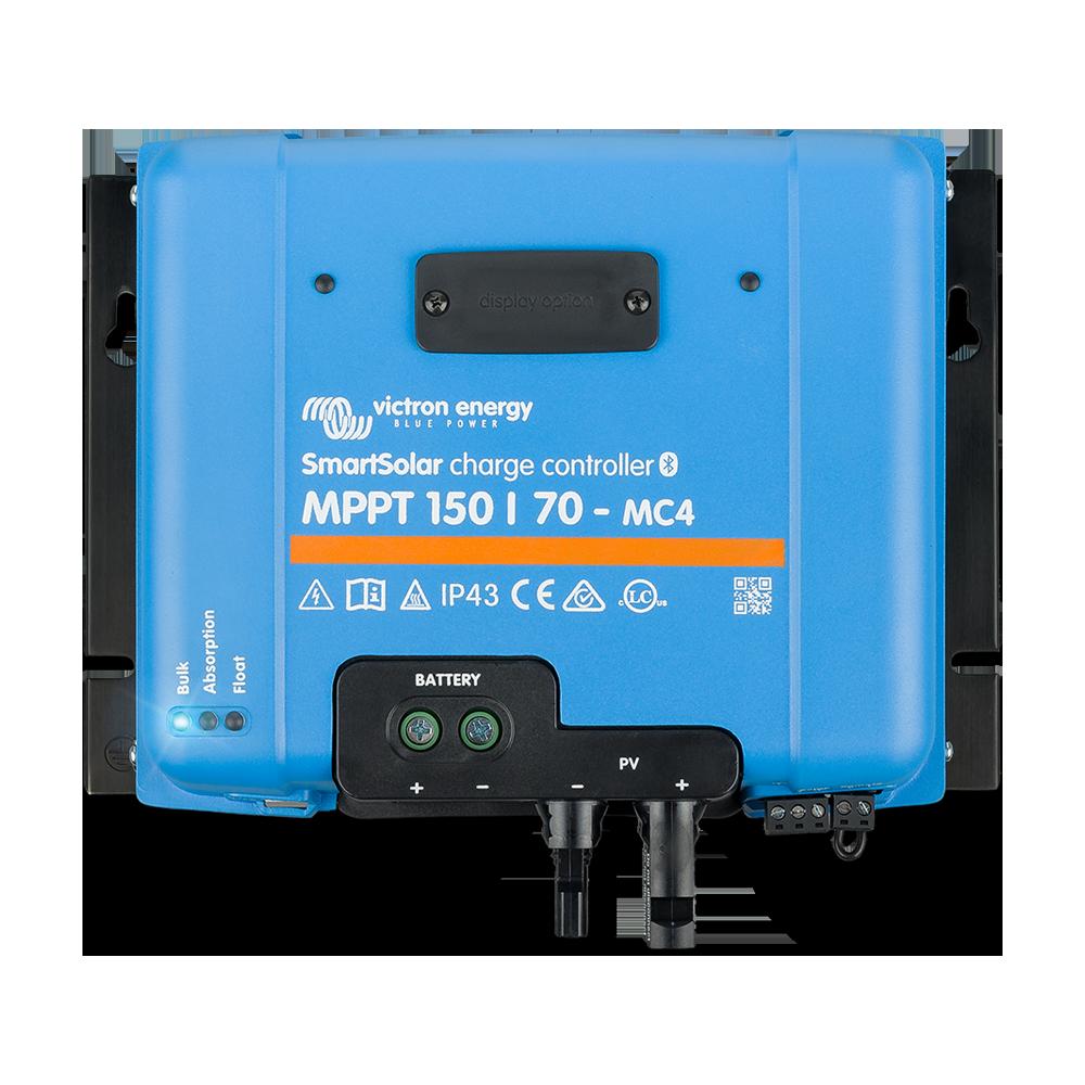 SmartSolar charge controller MPPT 150-70 MC4 (top)
