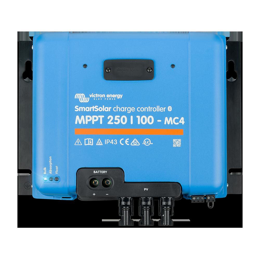 SmartSolar charge controller MPPT 250-100 MC4 (top)