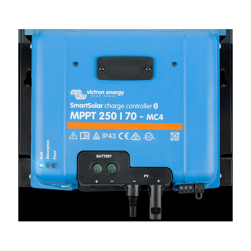 SmartSolar charge controller MPPT 250-70 MC4 (top)