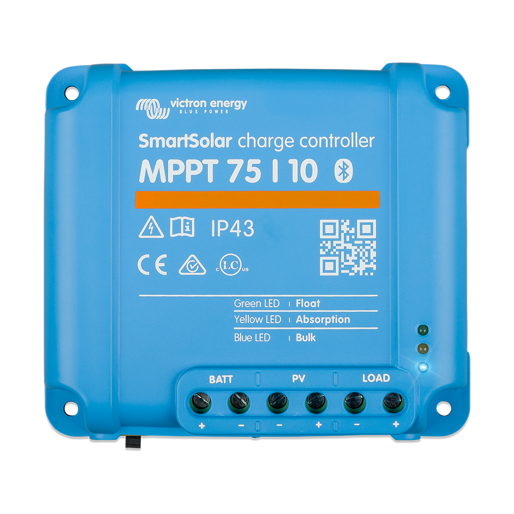 SmartSolar charge controller MPPT 75-10 (top)